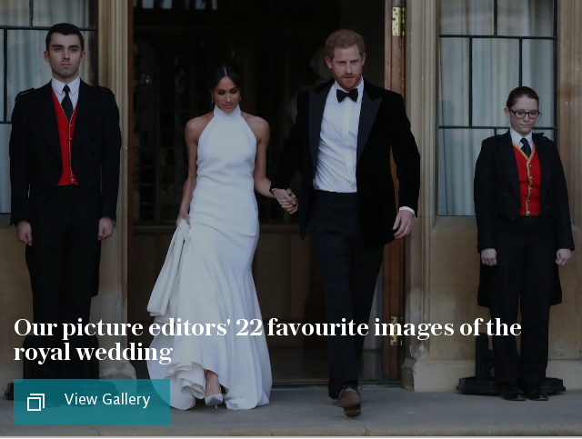 Our picture editors' 20 favourite images of the Royal wedding