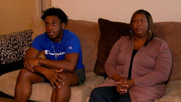 PHOTO: In this screen grab taken from a video, Dameon Shepard and his mother, Monica Shephard are shown. (WWAY)