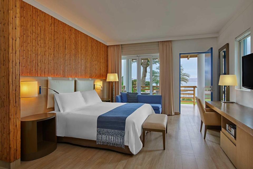 A guest room at Hotel Paracas, voted one of the best hotels in the world