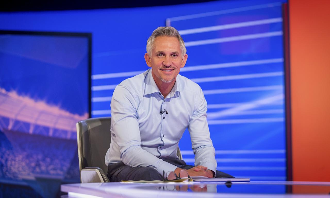 <p>The Match of the Day presenter earns between £1.75m and £1.8m. (Picture: BBC) </p>