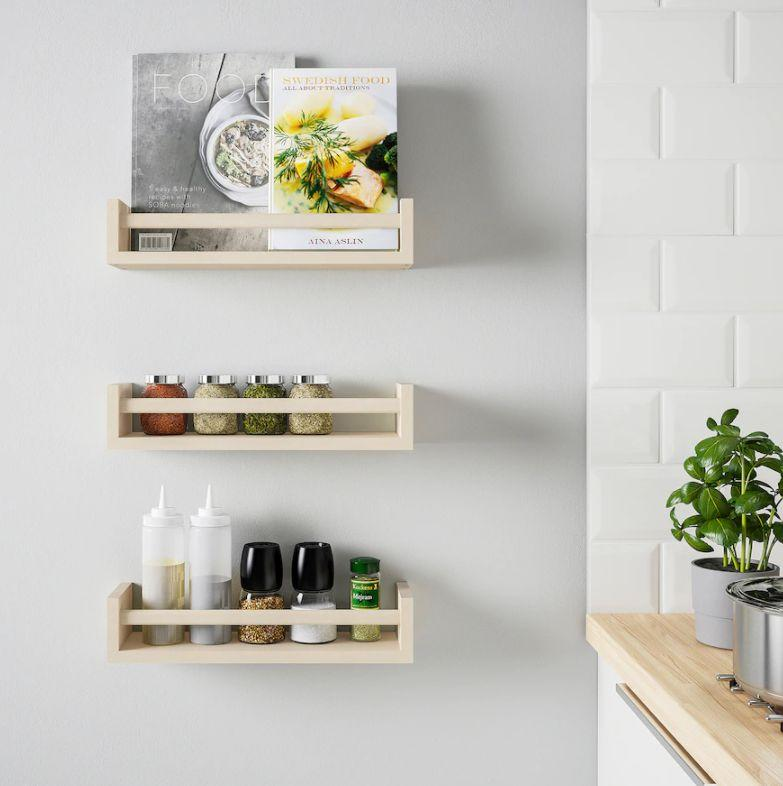 With a little imagination, the BEKVÄM spice rack can be a lot more than a spice rack. (Photo: IKEA Canada)
