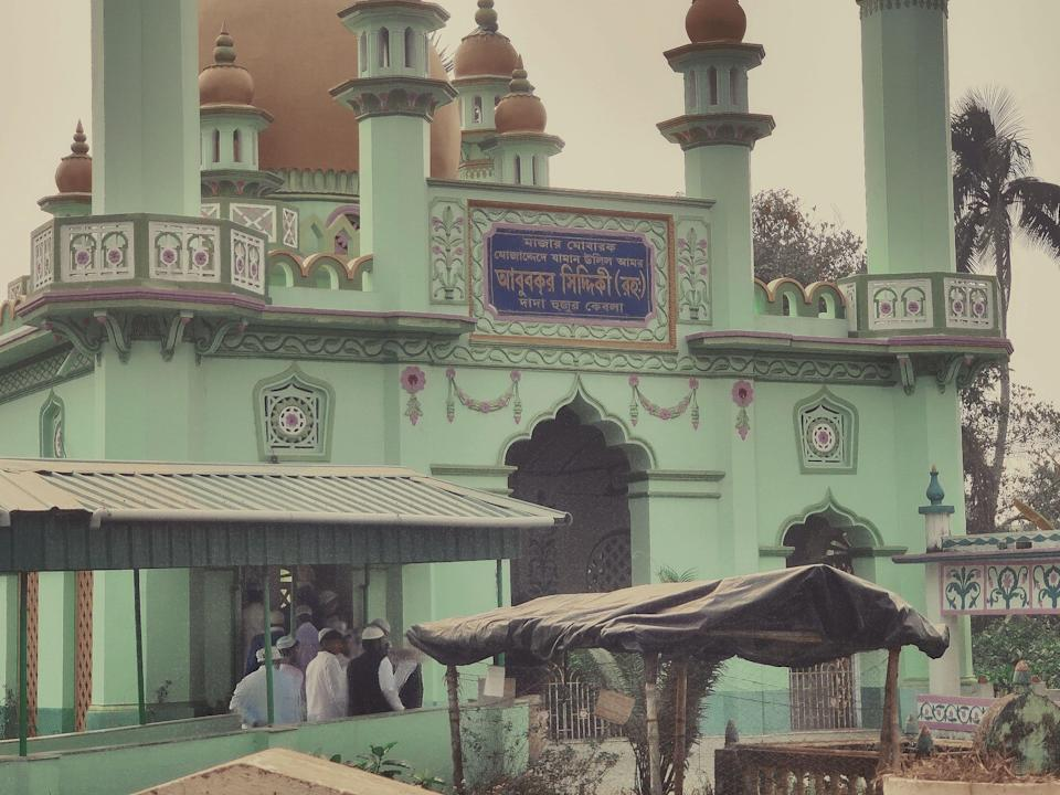 The shrine of former peer Hazrat Abu Bakr Siddiqui forms the epicentre of the village's activities.