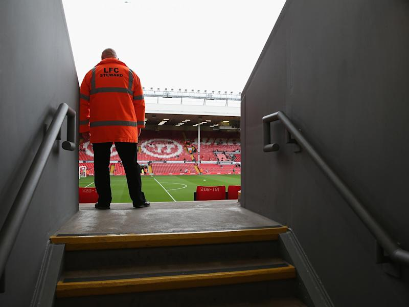 Liverpool are the latest Premier League club to place some non-playing staff on temporary leave: PA