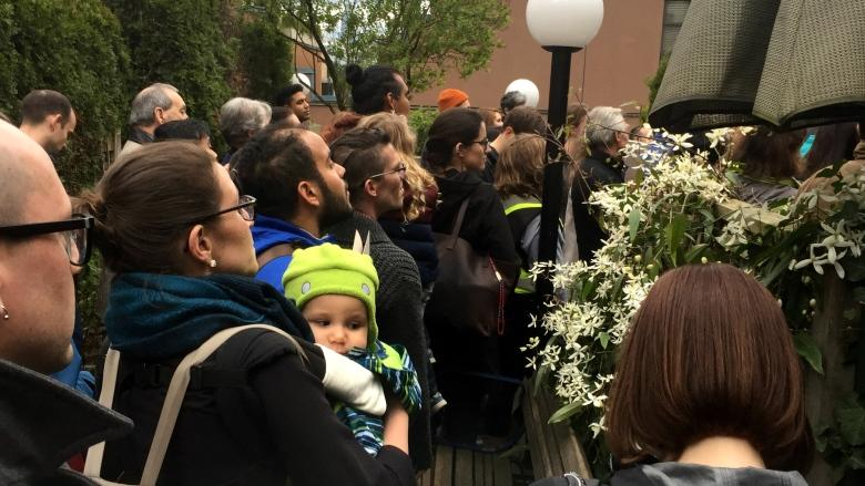 'This — is — nuts': Why hundreds lined up to see a 2-bedroom, $1,200 co-op suite