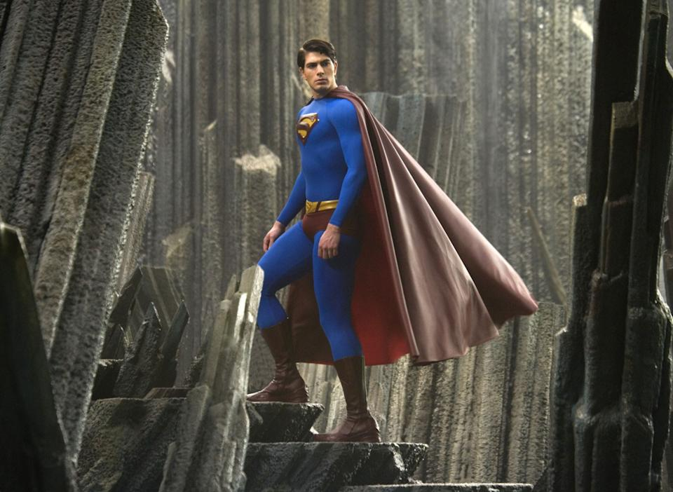 Brandon Routh as the Man of Steel in <i>Superman Returns</i>(Warner Bros.)