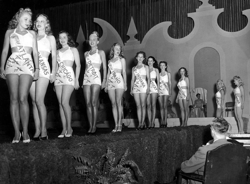 Miss America 2.0 is attempting to rebrand what began as a strict beauty pageant, seen here circa 1935. (Photo: Hulton Archive/Getty Images)