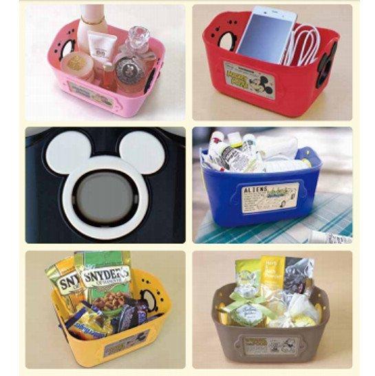 ♡fens house♡  米妮 三眼怪 多用途 收納盒 置物盒 置物籃 整理盒 製