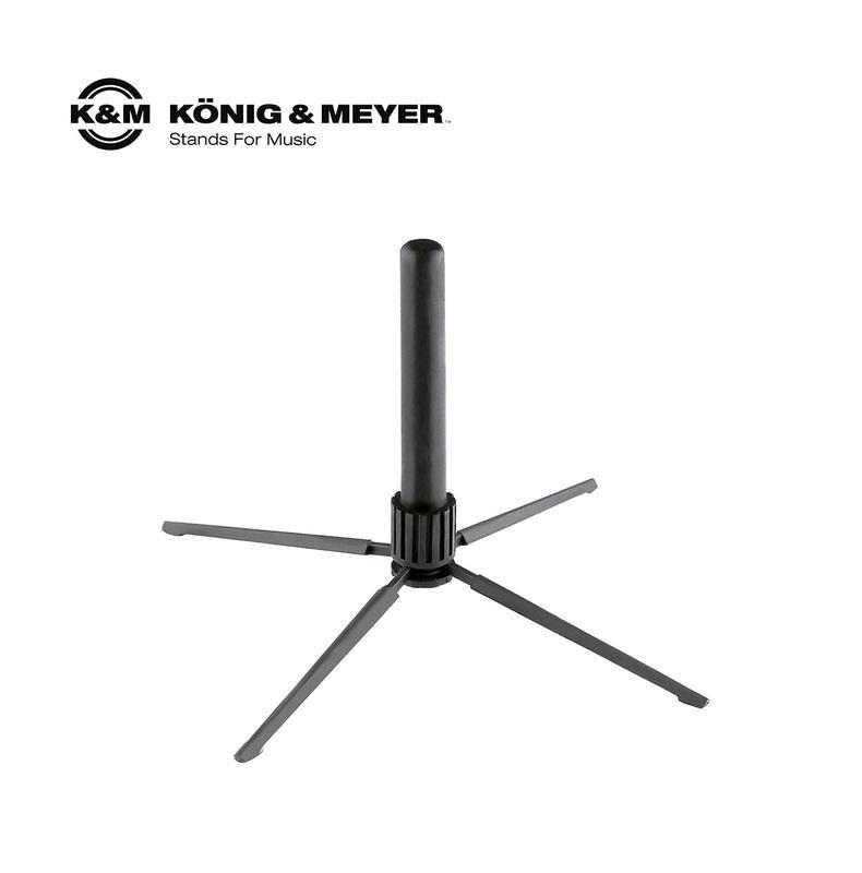 【現代樂器】K&M 15232 Flute stand 長笛架 (超輕重量 可收納置尾管 攜帶方便)