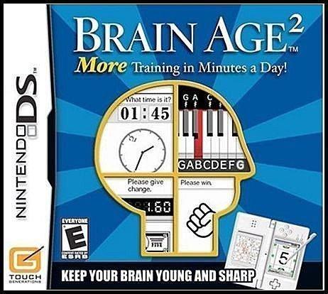 NDS 全新美版【大人的腦力強化訓練】【腦力鍛鍊 2】川島隆太教授