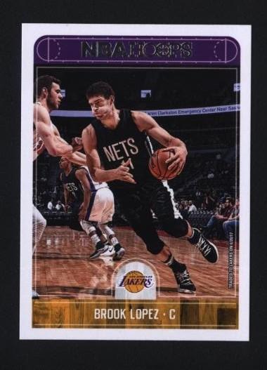2017-18 Hoops #133 Brook Lopez   湖人隊