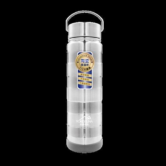 ☆龍歡喜精品☆ 橫綱 YOKOZUNA 316 不鏽鋼 手提 陶瓷 真空 保溫瓶 750ml 保溫杯 隨身杯