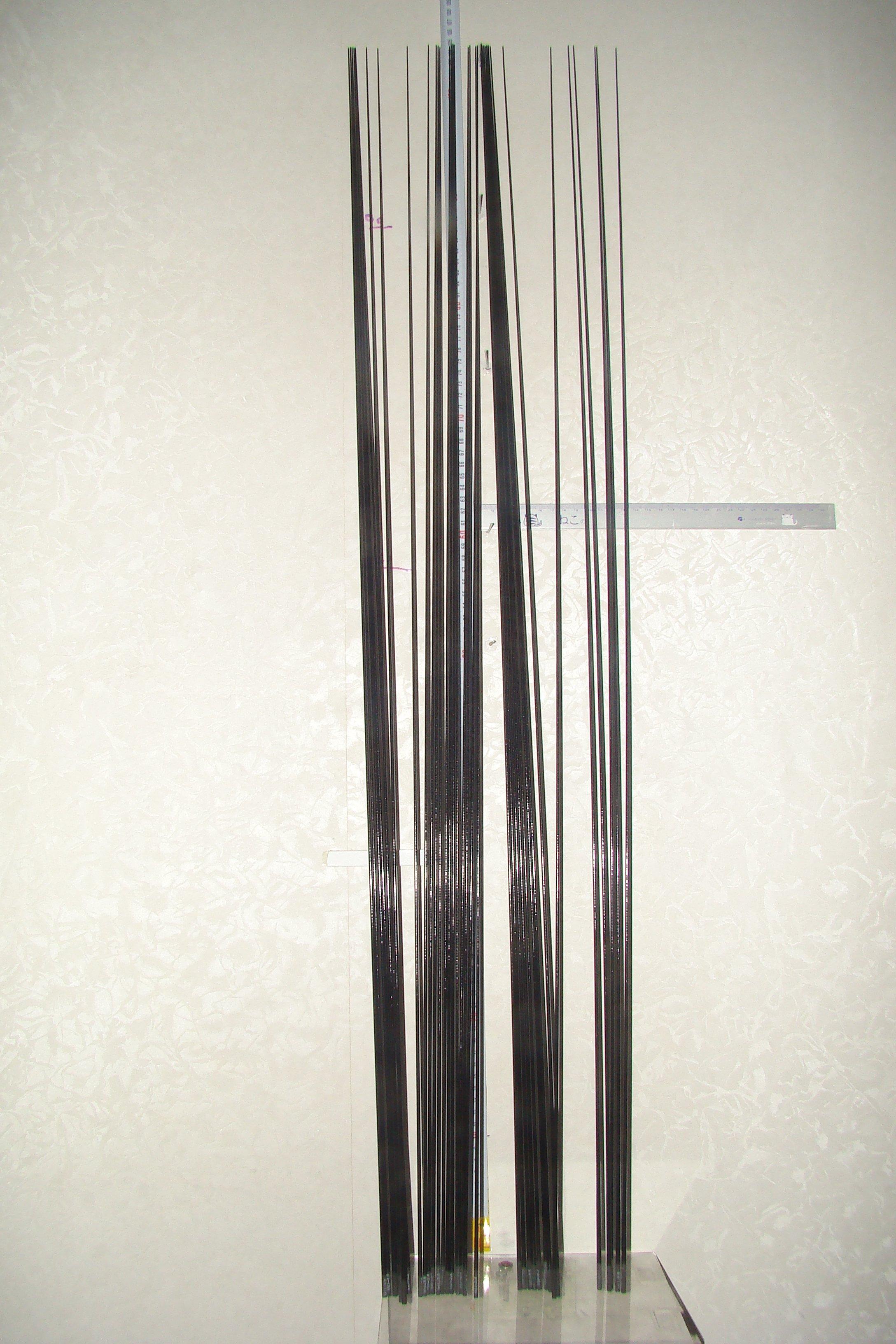采潔日本二手釣具 磯釣竿 碳纖卡夢竿尾 GAMAKATSU SHIMANO OLYMPIC素材 編號:B空心遠磯投竿用