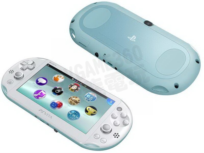 SONY PS Vita PSV PSVITA 2007 主機 台灣公司貨 淺藍白色【台中恐龍電玩】