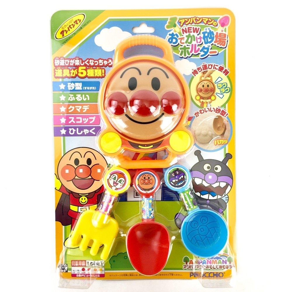 佳佳玩具 -----  麵包超人  挖沙 玩沙 沙灘工具 5件組 洗澡玩具 【05391172】