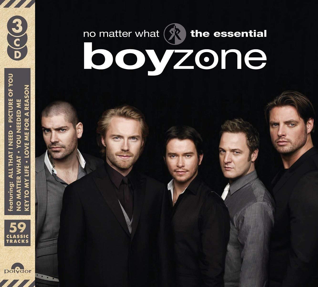 歐版3CD《男孩特區》精選專輯全59首 /No Matter What: The Essential Boyzone全新