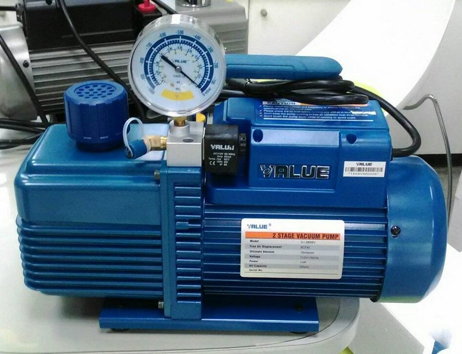 VALUE  V-i280sv  真空幫浦附真空錶  1HP  逆止閥 兩段式 超真空