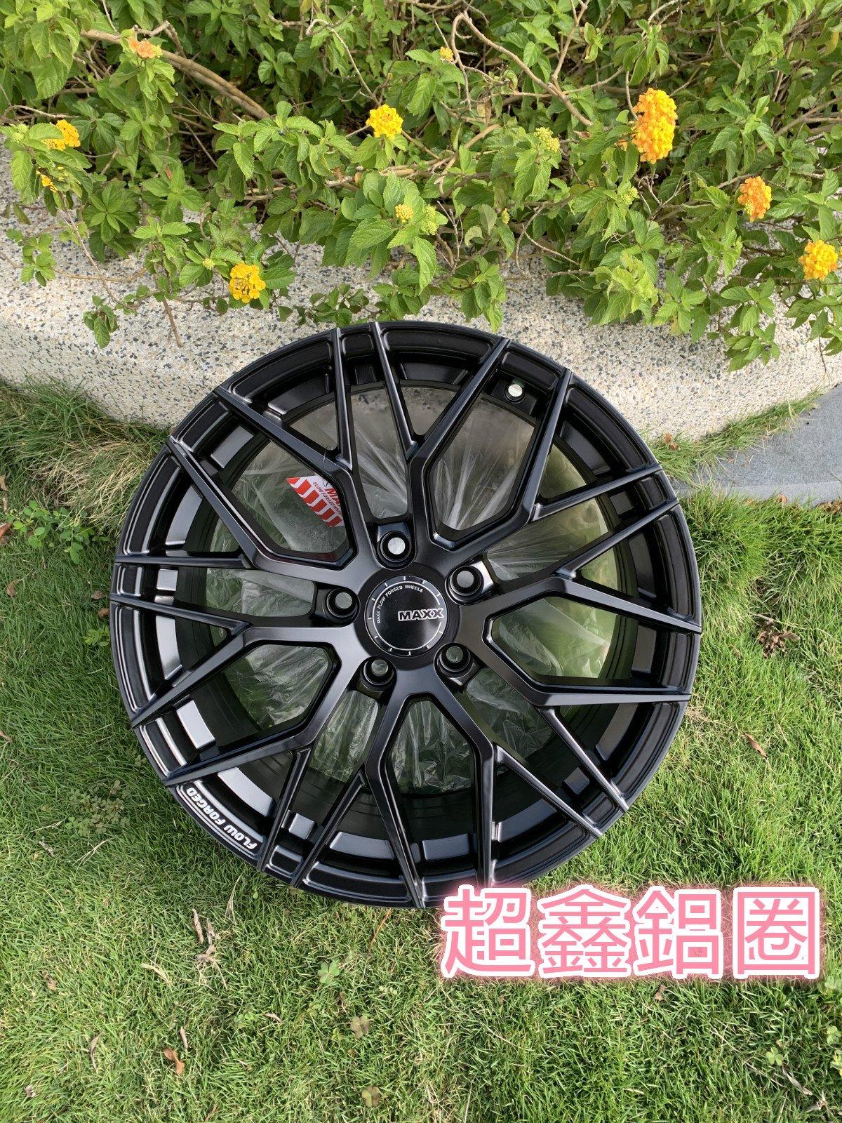 MAXX M11 16吋旋壓鋁圈 4孔100 4/100 平光黑 完工價