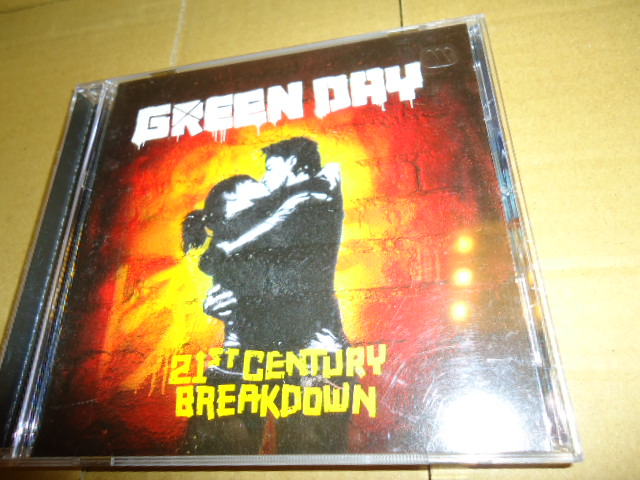 Green Day 年輕歲月合唱團 21st Century Breakdown 世紀大崩解.