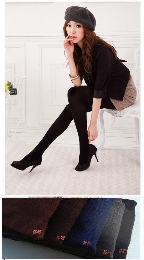 ☆☆MIT 美腿女王 舒適200D 直條織紋彈性厚褲襪 製 (滿600免運)