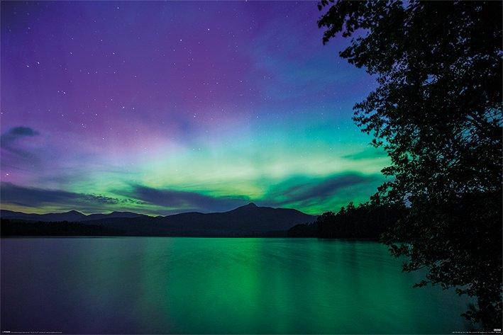 海報 英國 海報 PP34435( 海報 極光 BBC Earth (Northern Lights))