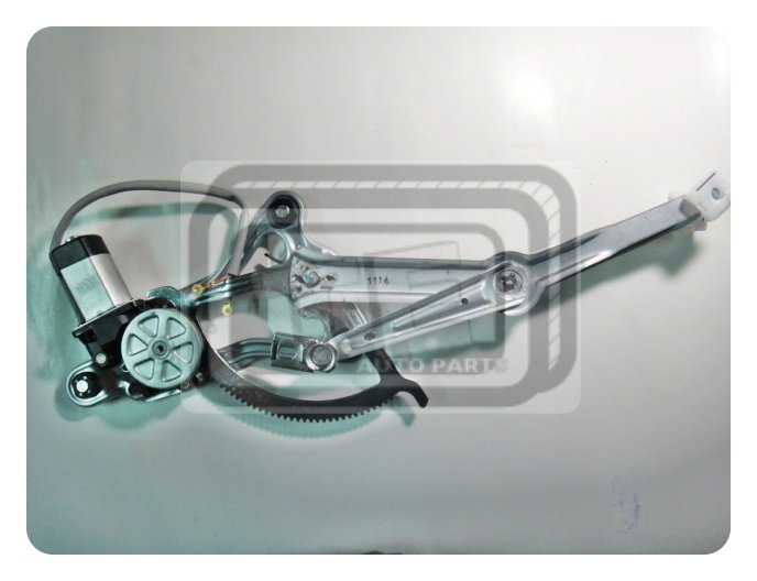 【TE汽配通】Benz 賓士 W124 電動窗升降機 電動升降機總成 前左 FL 日本馬達 副廠件