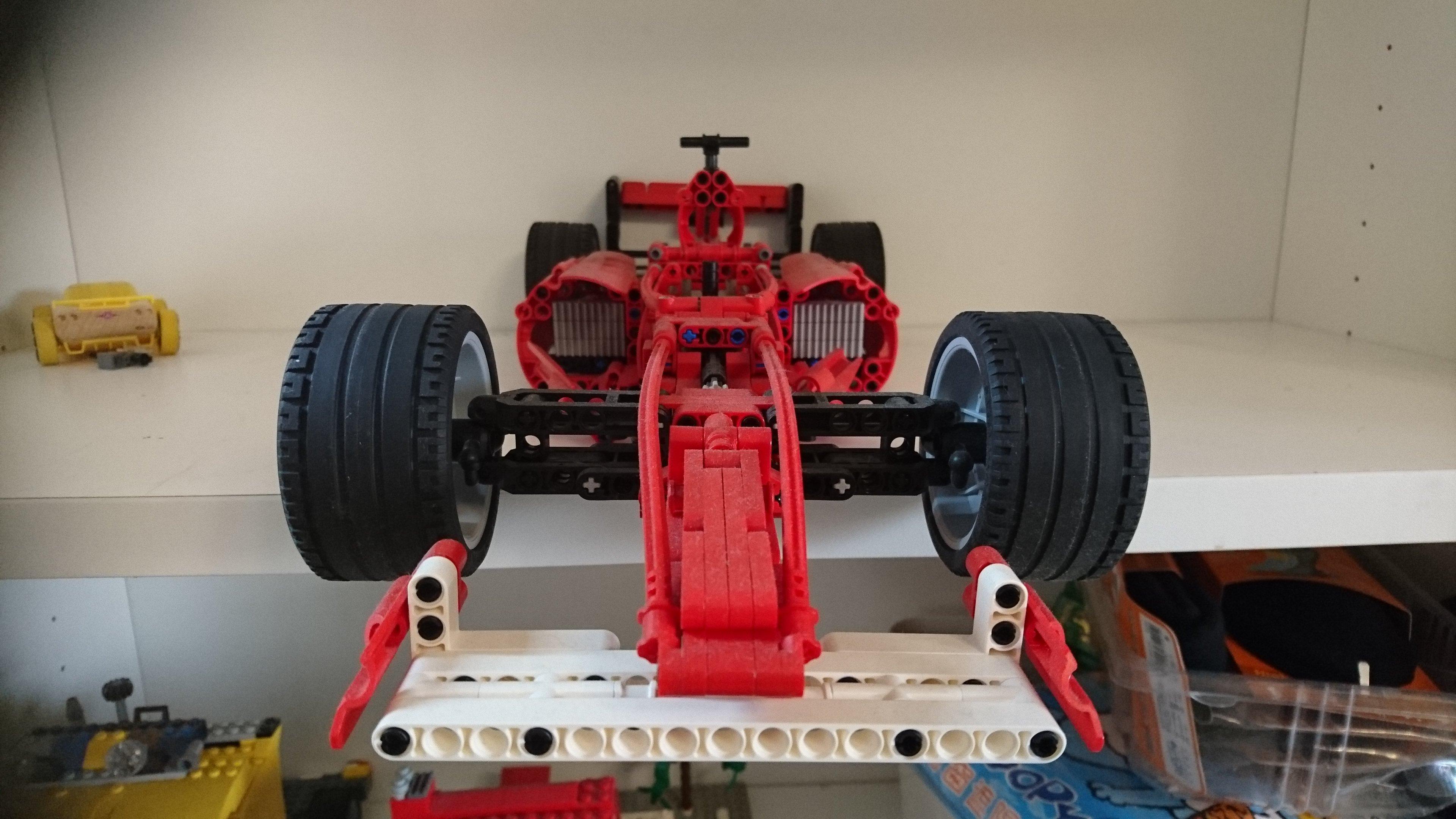 LEGO 8386 FERRARI F1 RACER 1:10 2004年絕版品
