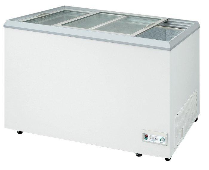 只用 3個月 9成9新 台灣瑞興-3.3尺 玻璃對拉冷凍櫃RS-DF330只要12000元