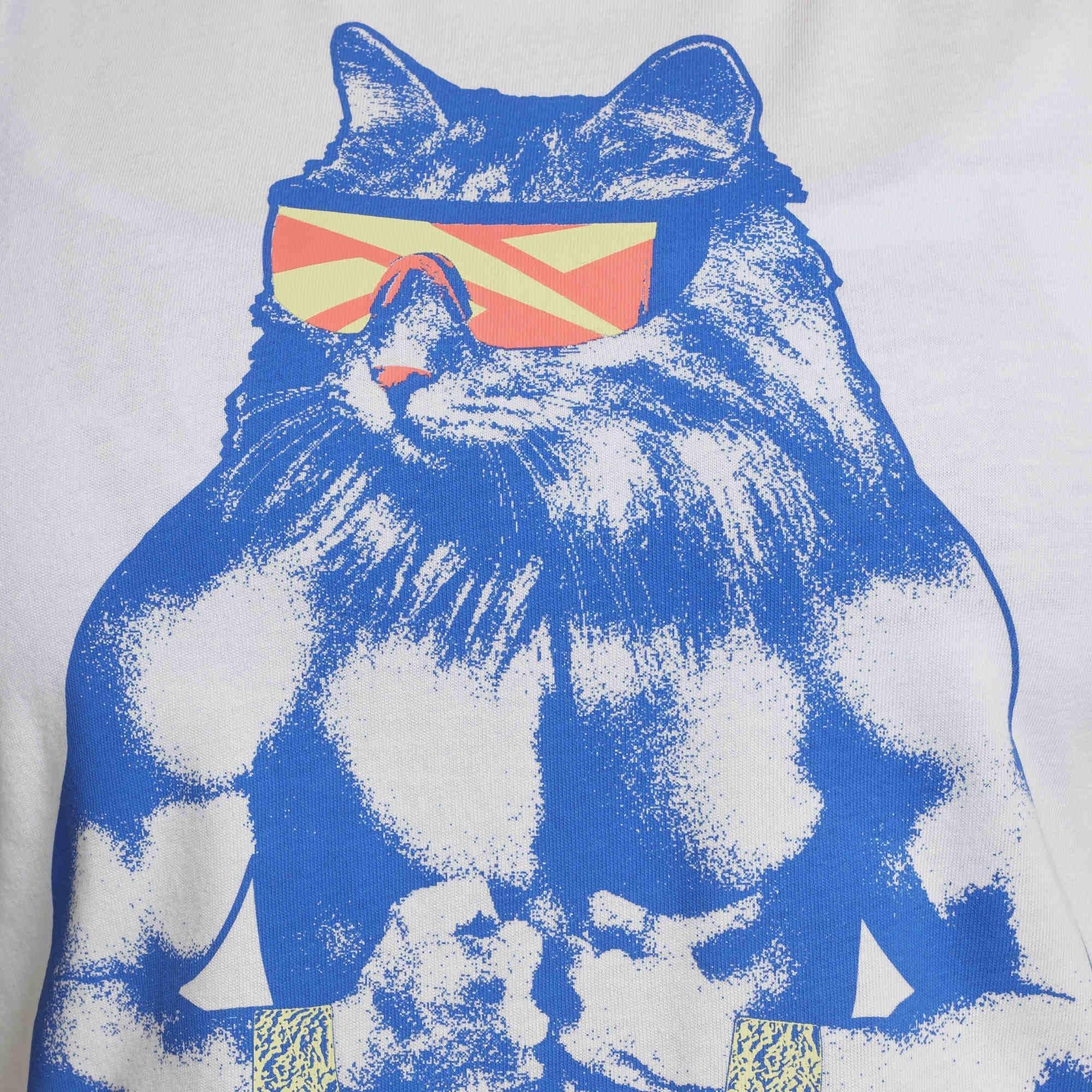 南◇2021 4月 Reebok GRITTY KITTY 運動背心訓練健身重訓大貓咪 黃色GI8386 白GH6870