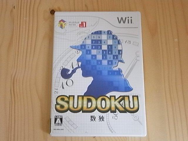 【小蕙館】Wii ~ SUDOKU 數獨 (純日版)