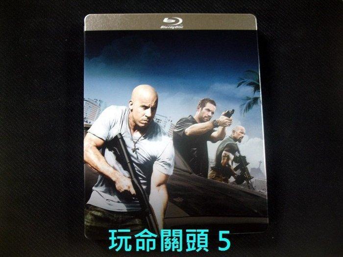 【BD藍光】玩命關頭 5:三碟限量鐵盒版The Fast And The Furious 5(中文字幕)