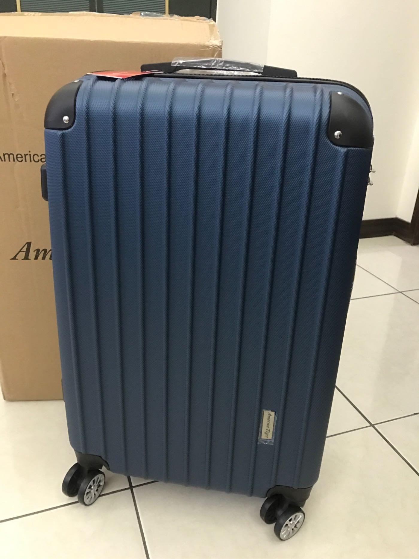 全新~America Tiger 24吋晶亮行李箱 !(桃園市自取或面交)