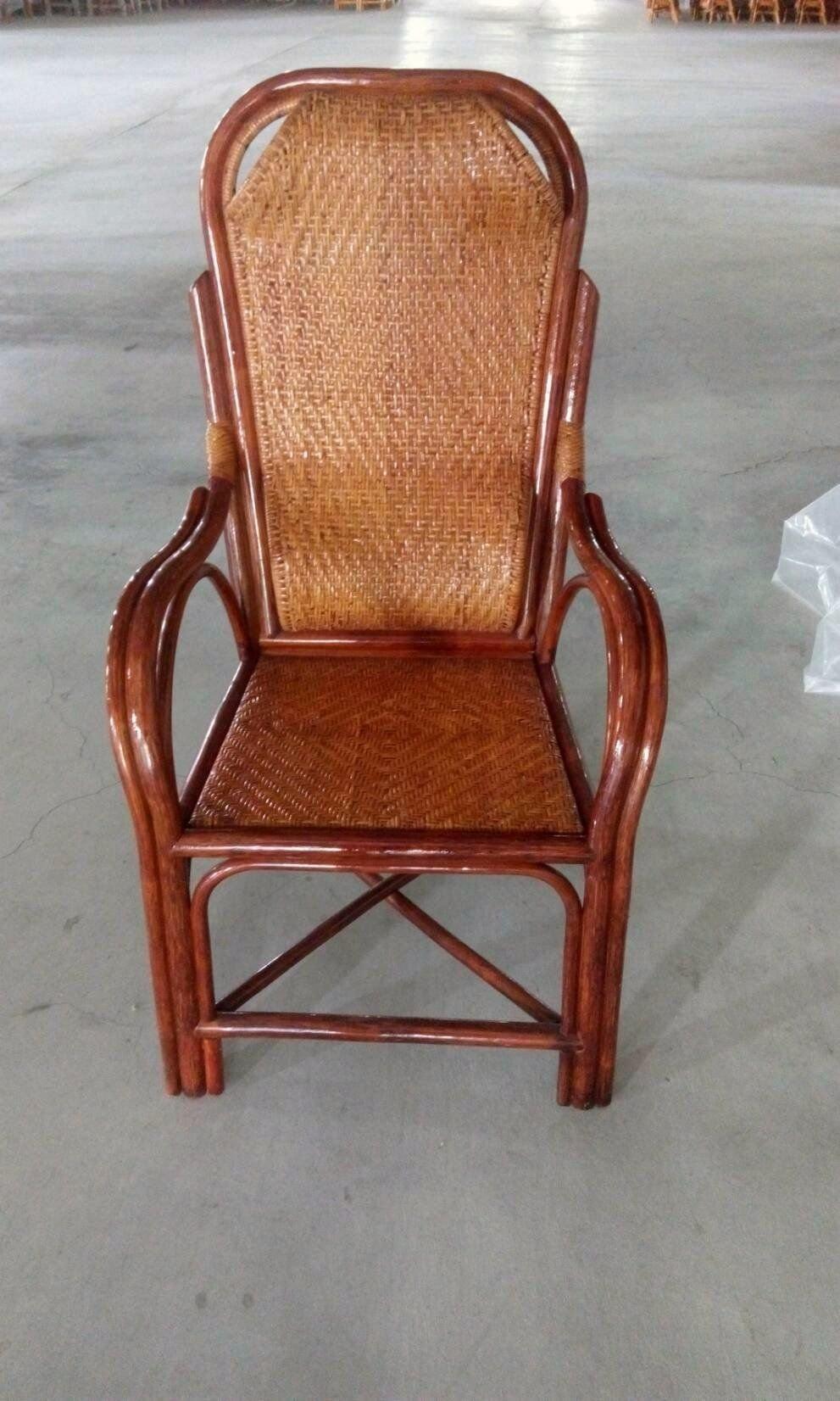 【藤椅批發零售】藤椅-籐椅雙凸教師椅A--護腰老人椅-休閒椅-辦公-工廠直營團購更優惠