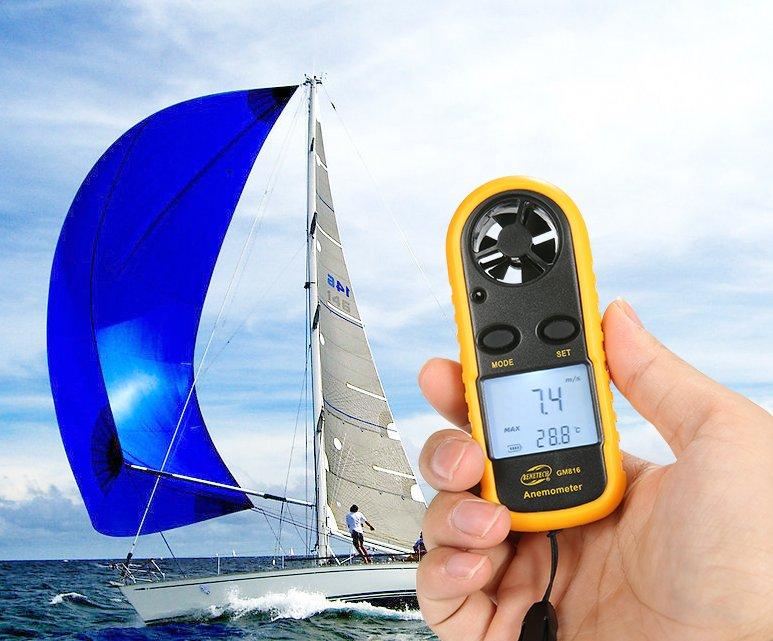 *蝶飛*有發票 發貨 數字風速儀 GM816 便攜測試風速.風溫 LCD數字顯示 超AR816