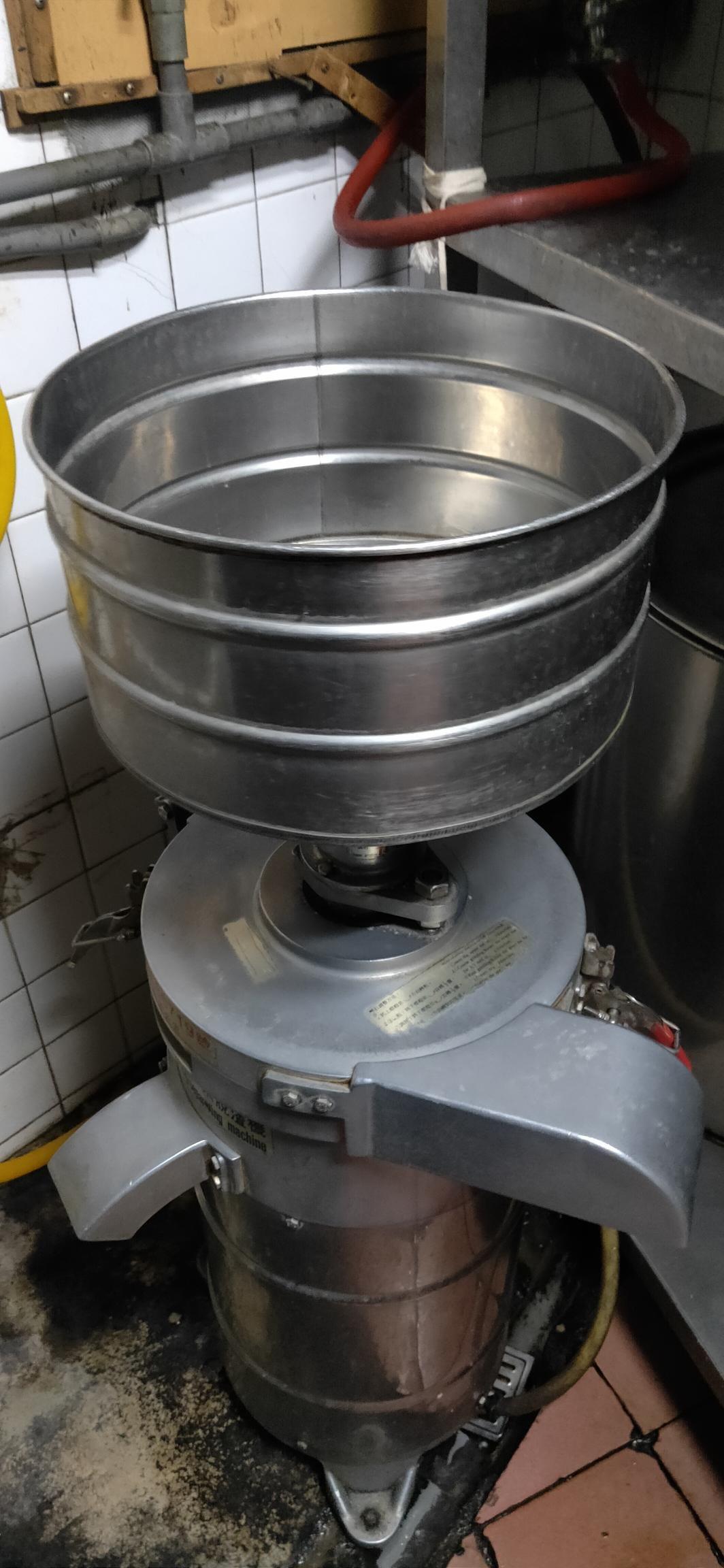 南門餐廚設備拍賣二手 F-16磨兼脫豆漿機