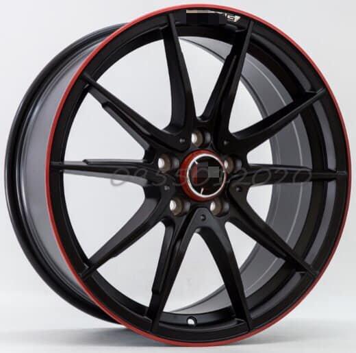 全新類BENZ AMG限量紅圈5孔112 19吋鋁圈W204.W205.W207.W212.W213.W176.CLA