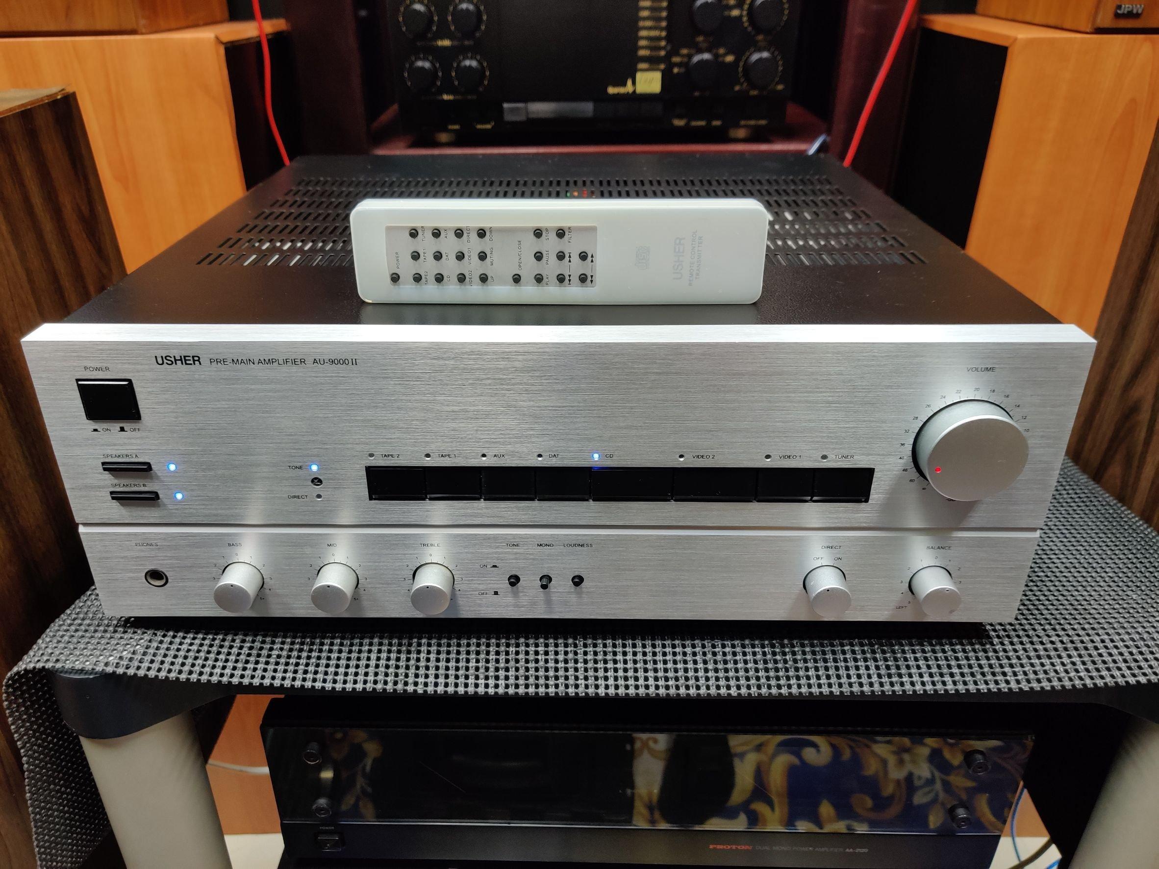 精品 雅瑟 USHER AU-8500 II 二代 綜合擴大機 極新 不含遙控器