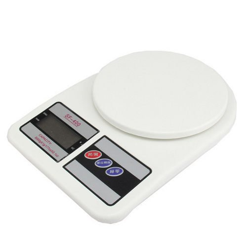( ) 平台式按鍵料理秤 磅秤盎司秤計量器具克 電子秤非供交易 (承重 3公斤最小1公克)