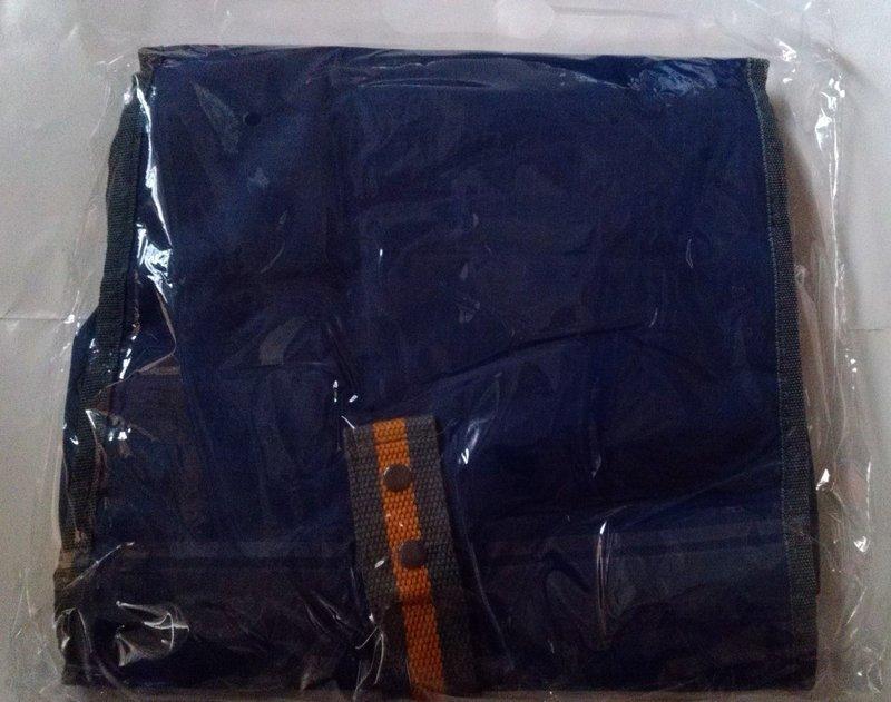 漢神來店禮 輕鬆遊收納袋 化妝包 旅行盥洗袋 藍色旅行盥洗包