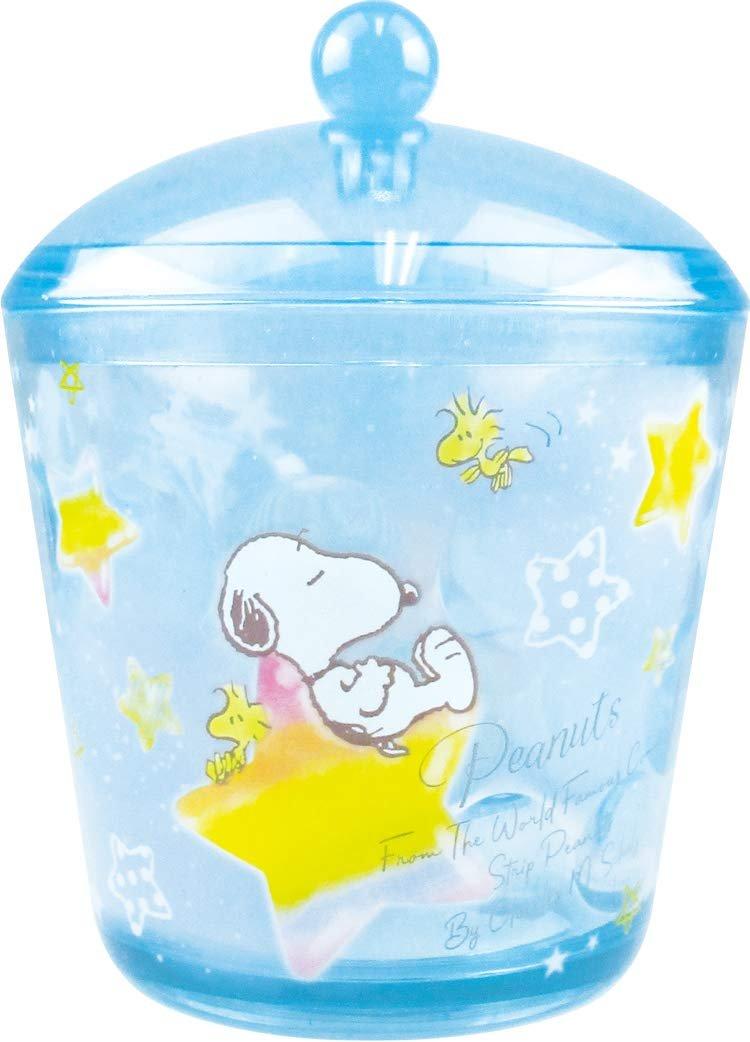 X射線【C092703】史努比 Snoopy 透明小物收納罐,棉籤罐 密封罐 小飾品罐 飾品盒 收納罐 空罐 化妝品收納