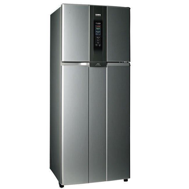 泰昀嚴選 SAMPO聲寶雙530L一級變頻省電變頻冰箱 SR-N53D 線上刷卡免手續 內可洽低價 全省配送拆箱定位