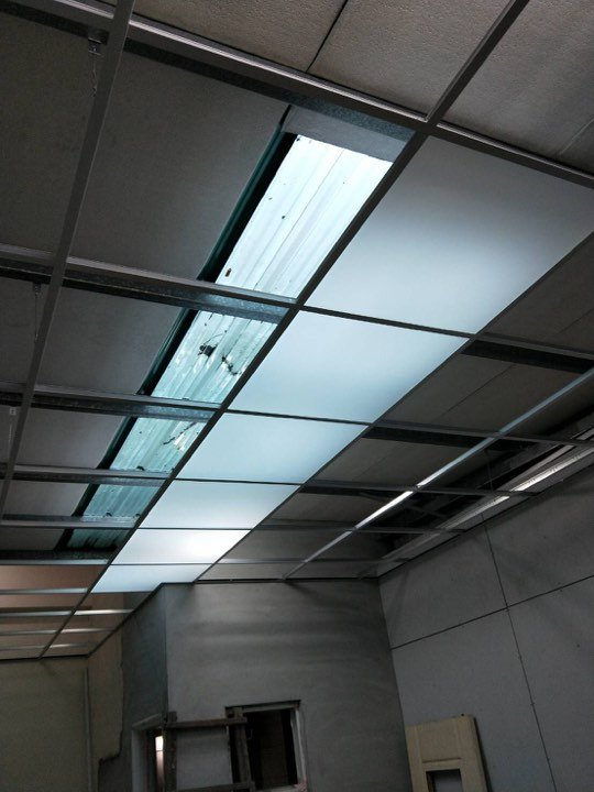 輕鋼架專用 3mm 壓克力板 透光板 PS 珍珠天花板 自然光 節能 環保 採光板 廚房天花板 亮面 防水