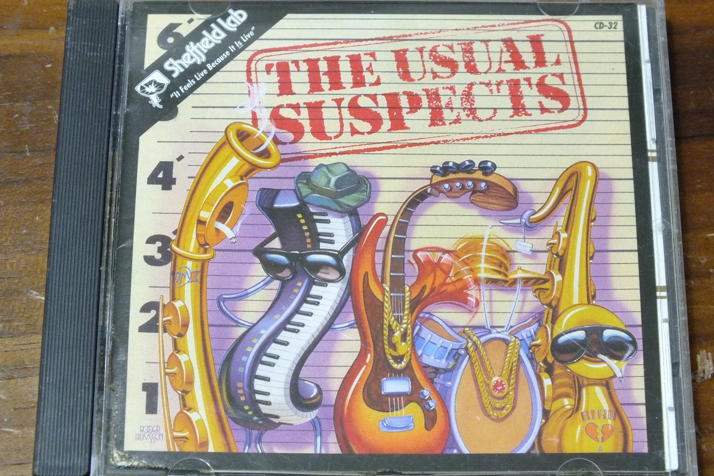 Sheffield lab-The Usual Suspects-無IFPI,盤面標示promotional only