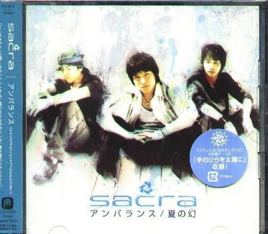 K - sacra - Unbalance - 日版 CD+DVD - NEW