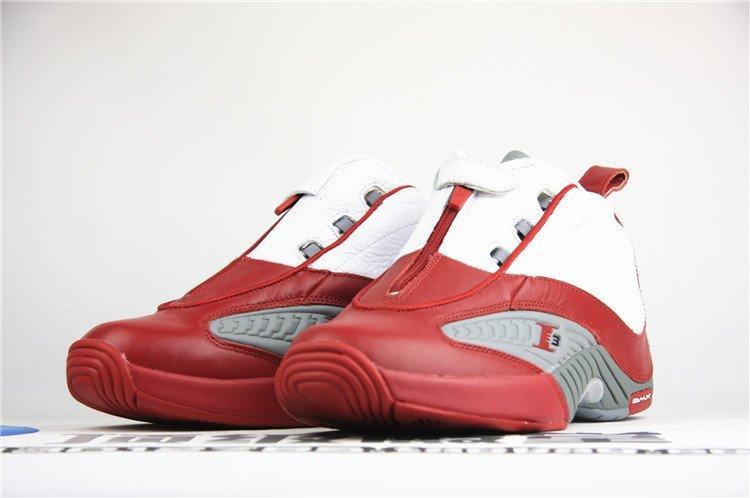 答案Reebok 锐步 Answer IV 4艾弗森 白红篮球鞋 V44403