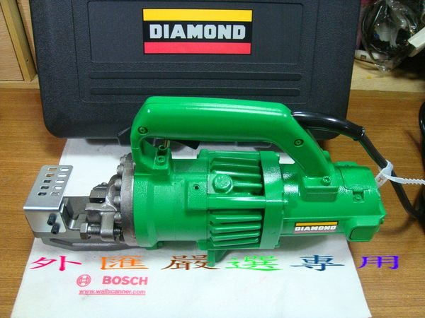 外匯嚴選 DIAMOND 日本製 鑽石牌 DC-20WH-S 手提式 6分 電動油壓剪 鋼筋切斷機 /日本原裝
