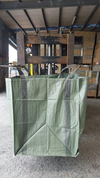 含稅附發票-太空包 太空袋 砂石袋 綠色一般型 90*90*100優惠價79元滿20個以上免運費