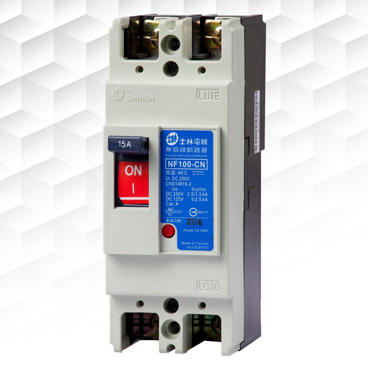 【士林電機】無熔線斷路器 NF100-CN 2P 15A 20A 30A 40A 50A 無熔絲開關