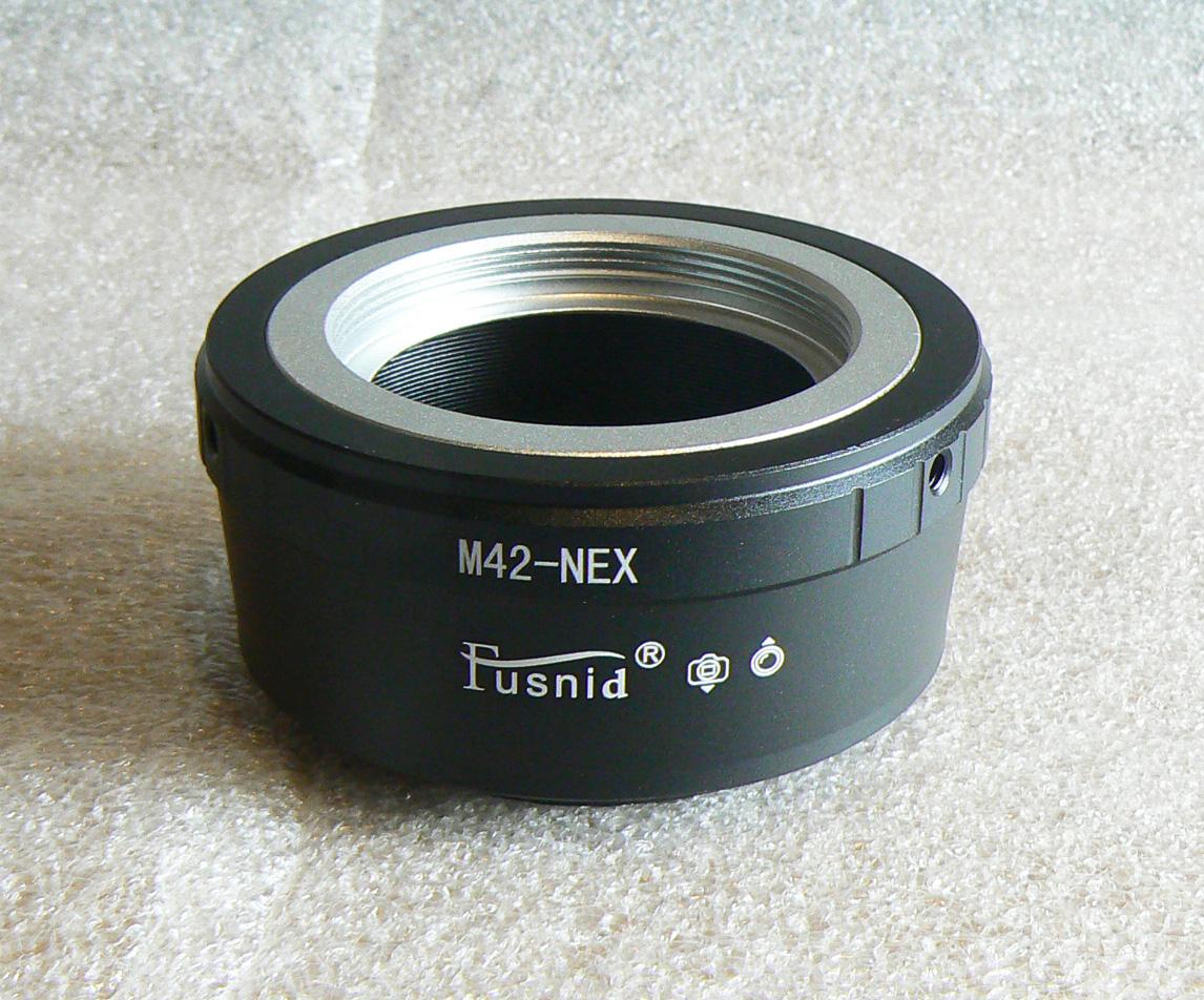 【悠悠山河】Fusnid精品 M42-NEX--M42轉Sony E口,A7III,A7r, 擋板 可上腳架 附調整板手