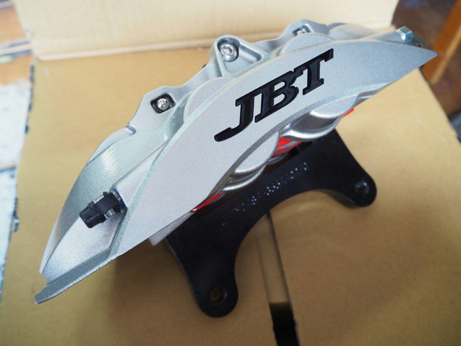 **JBT全新新版大四活塞330/355碟盤卡鉗套裝全套組focus, mazda3, civic, CT200h