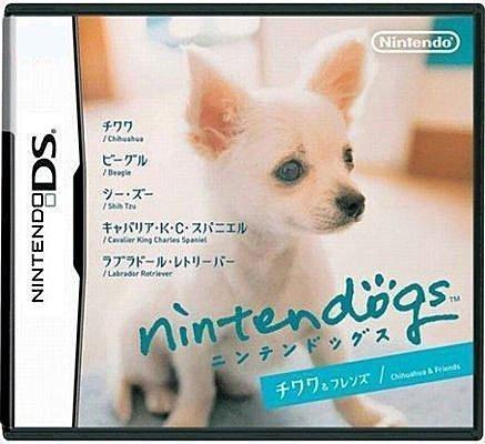 NDS 全新日版【任天狗】吉娃娃與夥伴們